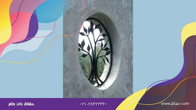 حفاظ پنجره طرح گل