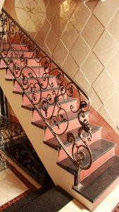 نرده راه پله حفاظ دات کام
